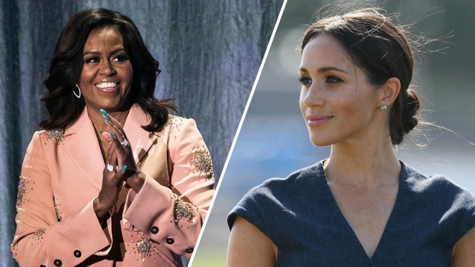 Michelle Obama and Meghan Markle